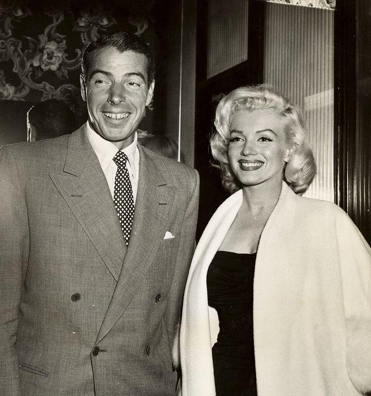 https://flic.kr/p/fxN2wb | Marilyn Monroe Joe Dimaggio beaming