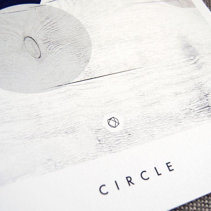 Close up av Geometric Circle