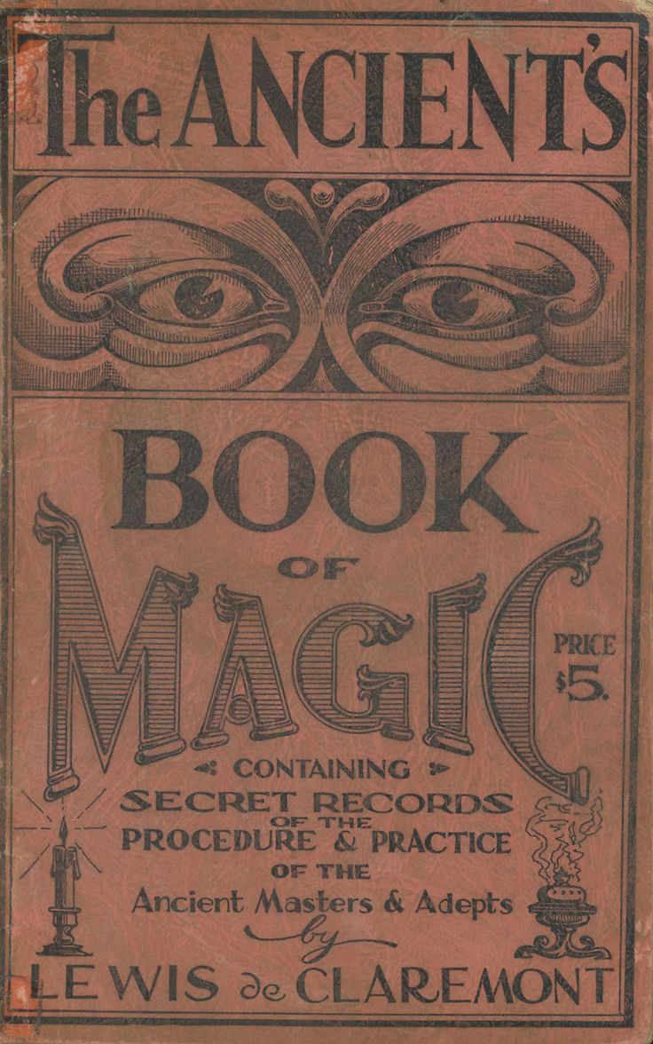 The Ancient's Book of Magic ~  1940