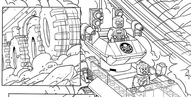 Lego Marvel Colorear Lego Coloring Pages Lego Coloring Avengers Coloring Pages