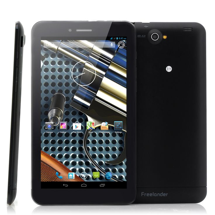 Freelander PD10 3GS Dual SIM Android Tablet (3G, 7 Inch, 1024x600, Dual Core 1.3GHz CPU)