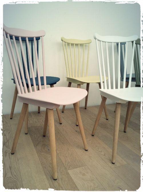 chaises bistrot baumann vintage revisit es chaises. Black Bedroom Furniture Sets. Home Design Ideas
