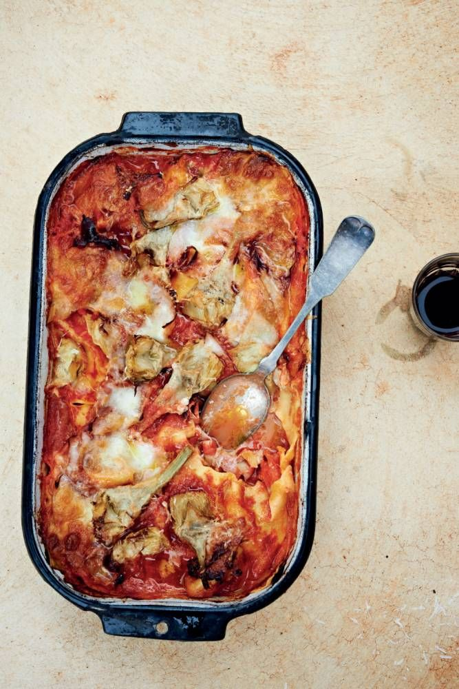 Recipe: How to make Bill Granger's artichoke and ham lasagne