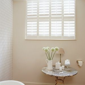 New England Plantation Shutters: Full Height 89mm Blades Painted