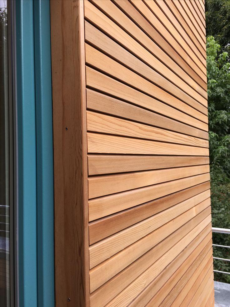 Western Red Cedar Holzfassade cedar-fix – #Cedar #…