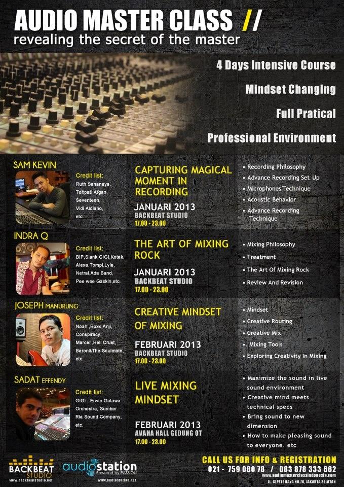 Utk teman2 #AMCI yg ikut kelas sy, syllabus sdh dikirim per email. CU at 28 January 2013. Let's have fun ! :D