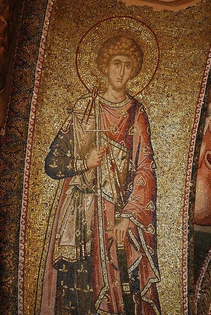 Mural Kariye Mosaic, Istanbul, Turkey
