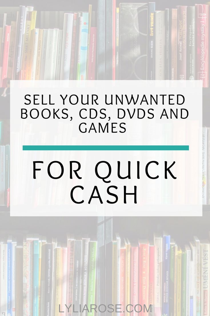 Sell your unwanted Books, CDs, DVDs and Games for cash at We