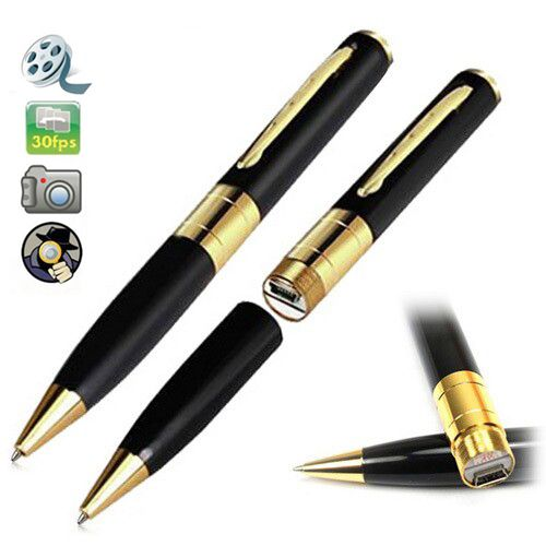 Weksi HD Spy Pen Hidden Camera DV DVR Video Business Portable Recorder Pen Camera