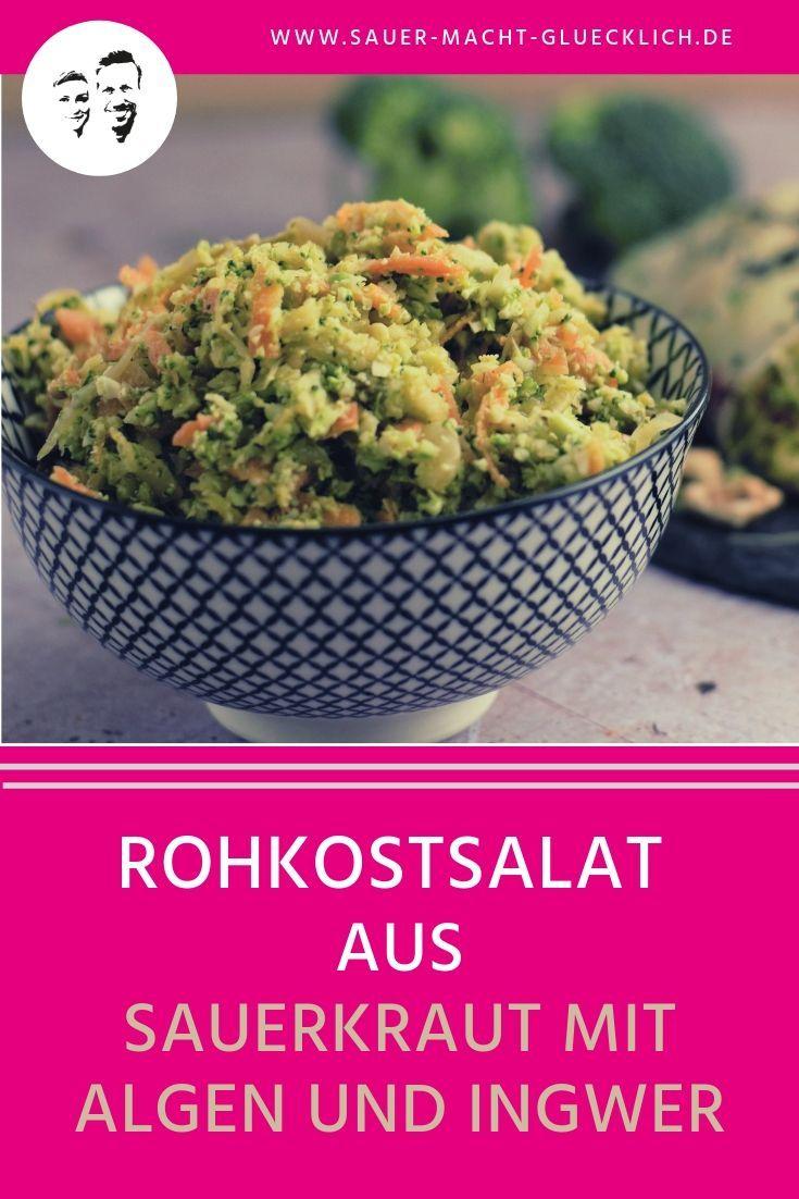 Fermentiertes Sauerkraut für unterwegs – Rohkostsalat to go – Marie Roh