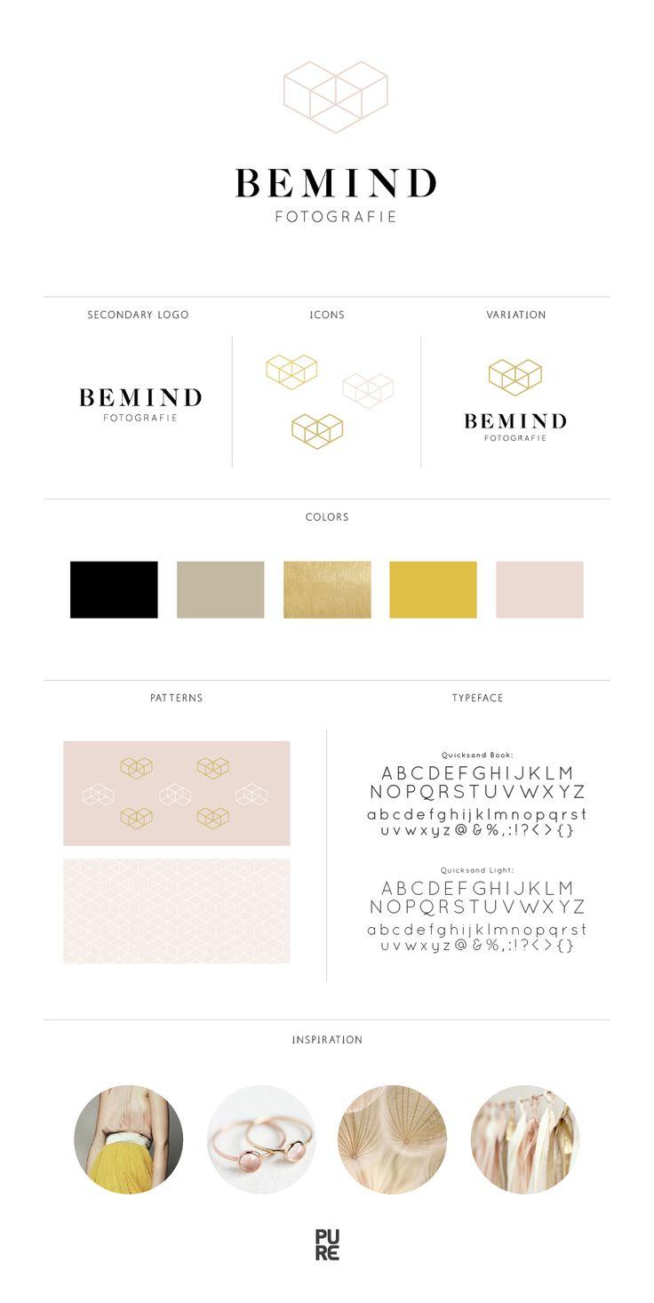 Branding Bemind Fotografie, Logo, Design, Ontwerp
