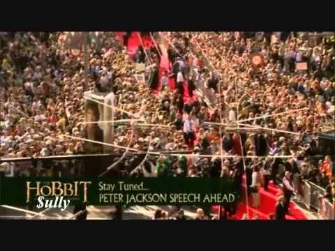 THE HOBBIT - Full Wellington World Red Carpet Premiere