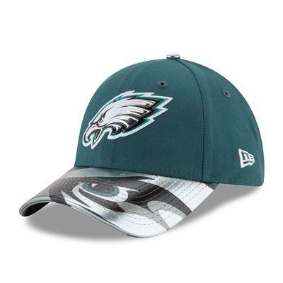 Philadelphia Eagles New Era Women's 2017 NFL Draft On Stage 9FORTY Adjustable Hat - Green