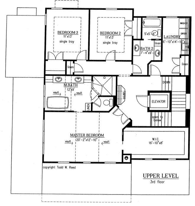 Upper Floor Floor Plan Floor Plan Upper Level House Plans Floor Plans Floor Plan Layout