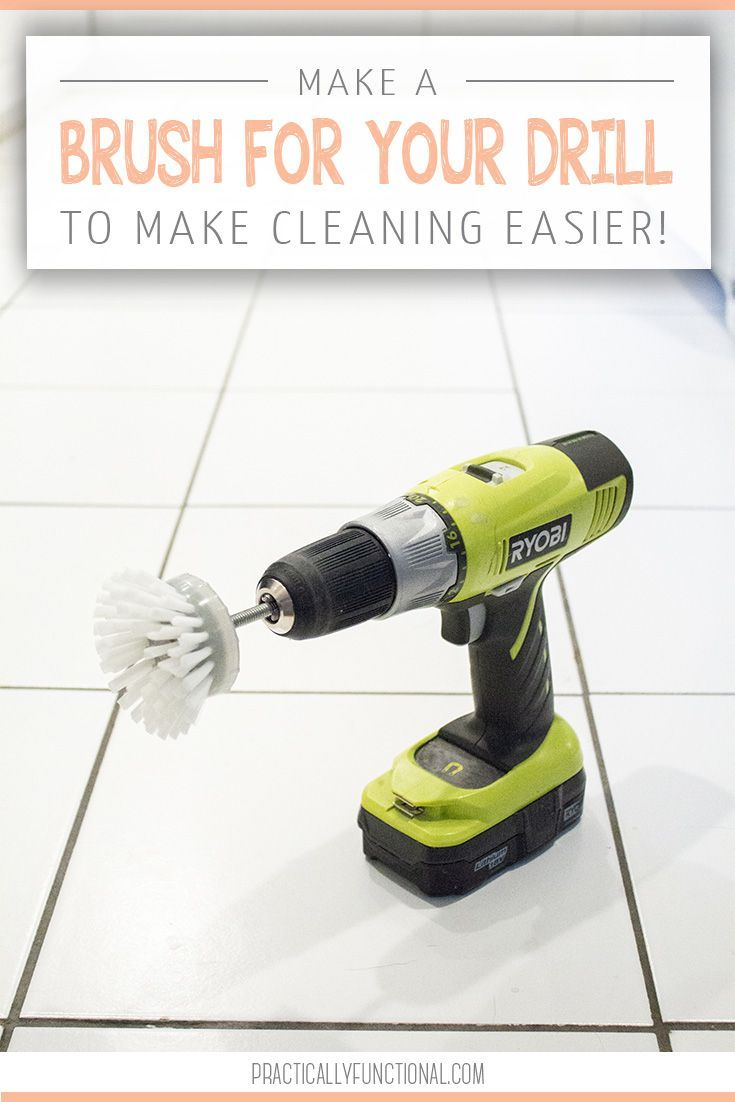 How To Make A Scrub Brush For Your Drill