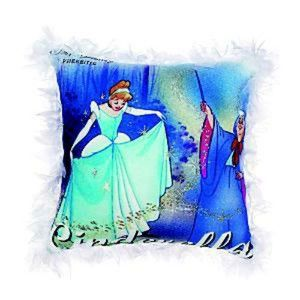 DISNEY PRINCESS Cinderella Fairy Godmother* Vintage Movie Poster Pillow