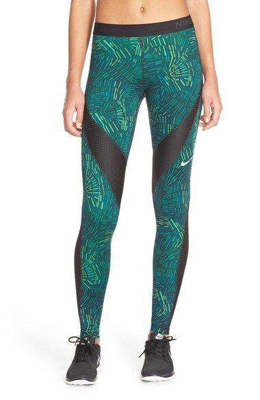 Nike 'Pro Hypercool - Tidal' Tights available | Fitness Apparel | Shop @ FitnessApparelExpress.com