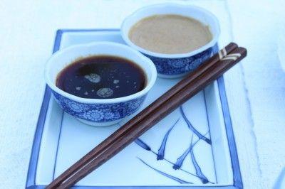 Teppanyaki dipping sauces
