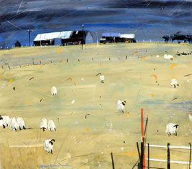 Winter Sheep, Aberfeldy