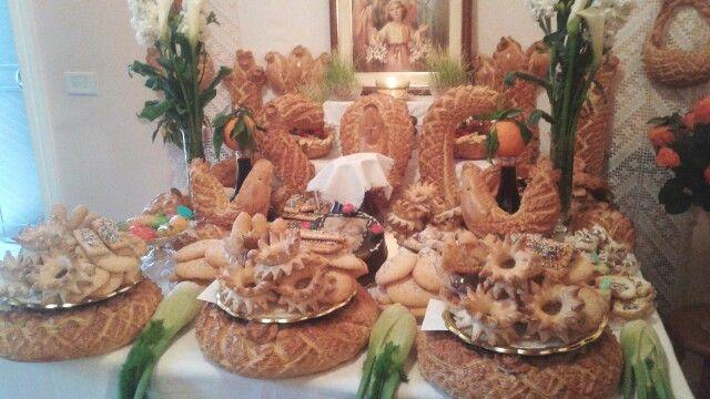 Cena di S.Giuseppe  Santa Croce Camerina