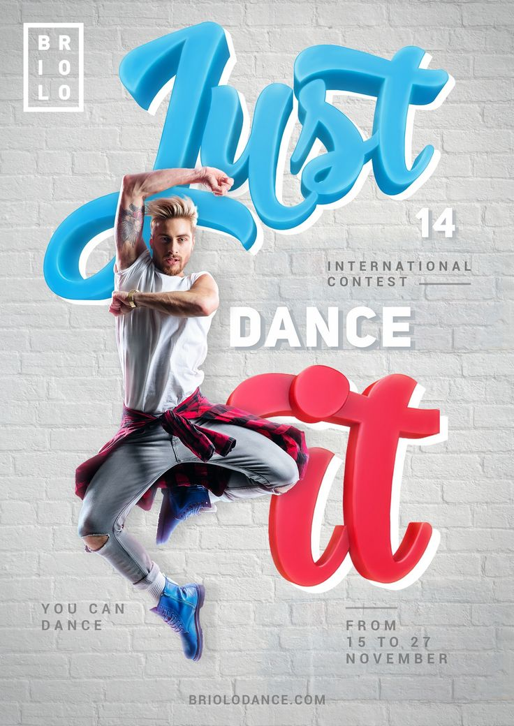 Just dance it | Advertising posters on Behance