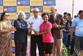 Jubilation As Teenage Nigerian Girl Breaks Record In Indian University (Read What She Did)   Whatsapp / Call 2349034421467 or 2348063807769 For Lovablevibes Music Promotion     A 17 years old 200 level student in Amity University India Esther Ruby Daniel has won various medals in different sporting events in the University The Nation reports. Miss Daniel who is from Akwa Ibom state won silver medal during All Indian Law Student University Game during her first month in the school. For this…