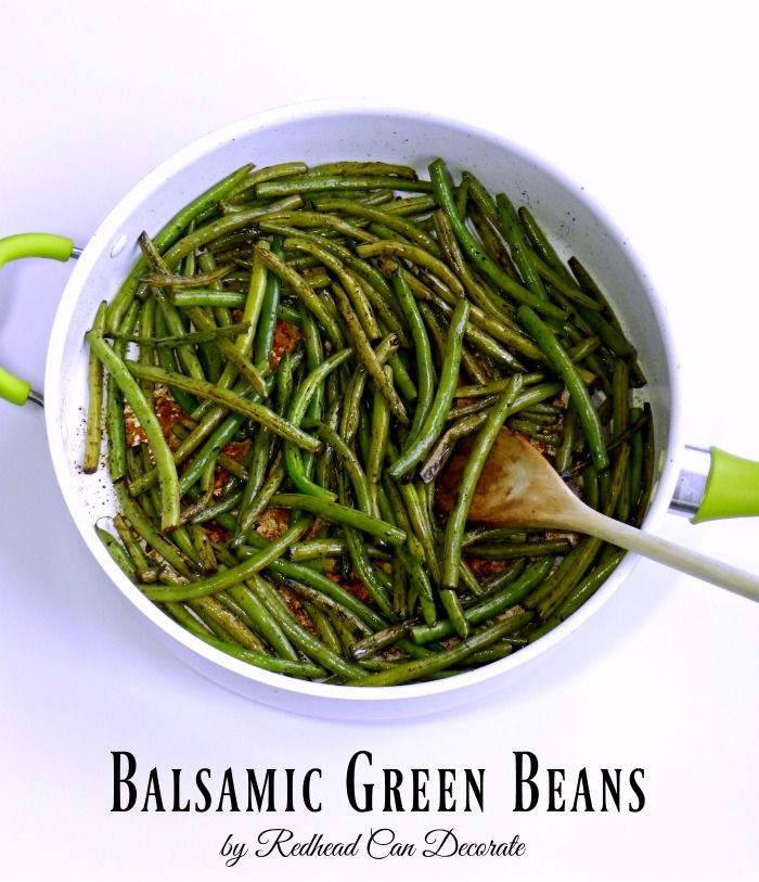 The best balsamic green beans I ever had! You will not be able to stop eating them. These are low carb at it's best! Pair with a protein or eat as an appetizer!