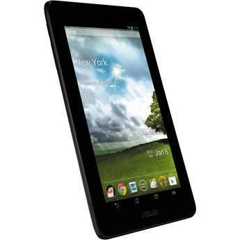 "ASUS 16GB MeMO Pad 7"" Tablet (Titanium Gray) 16GB MeMO Pad 7"" Tablet (Titanium Gray), 1.0GHz VIA WM8950 CPU, 1GB of RAM, 16GB of Flash Storage, Mali-400 Graphics, 7"" Widescreen Touchscreen,... More Details"