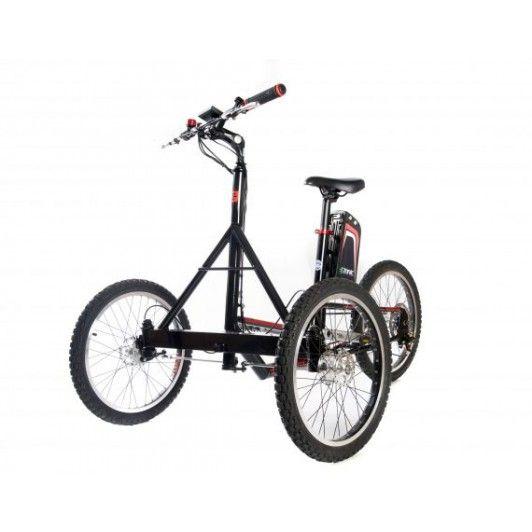 Triciclo todoterreno eléctrico para adultos de todas las edades