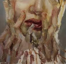jenny saville self portrait -