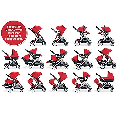 Britax B-Ready Stroller!  LOVE 14 DIFF CONFIGURATIONS.
