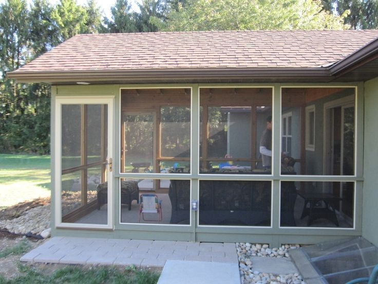 closed in porches screened patios pictures more - Screened In Patio Ideas