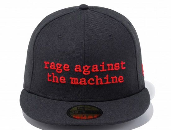 52ffcb1e222 59FIFTY Rage Against the Machine 59Fifty Fitted Cap by NEW ERA ...