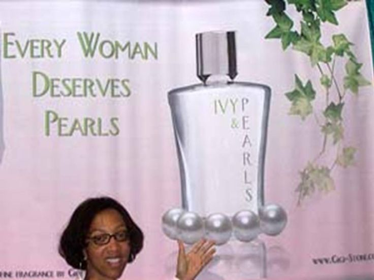 #Yes We Do# @ 2008 AKA Centennial Boule with Ivy & Pearls Eau De Parfum display