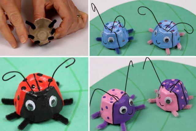 Bricoler avec des boîtes d'oeufs - Loisirs - Bricolage, projets et expériences - Mamanpourlavie.com