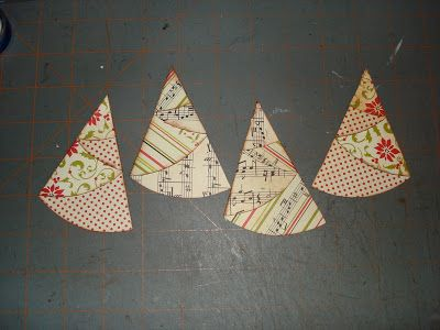 A Creative Operation: FOLDED CHRISTMAS TREES!!!!! with directions