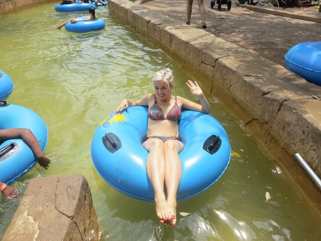 Valley of Waves, the Lazy River at Sun City.