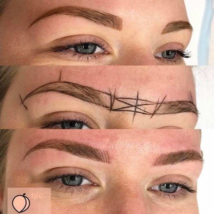 "The Peach Club Cosmetic Tattoo on Instagram: ""〰eyebrow science 🔬🔮🔬"""