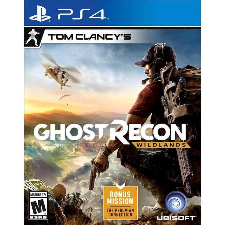 Tom Clancy's Ghost Recon Wildlands - PRE-Owned - PlayStation 4, Multi