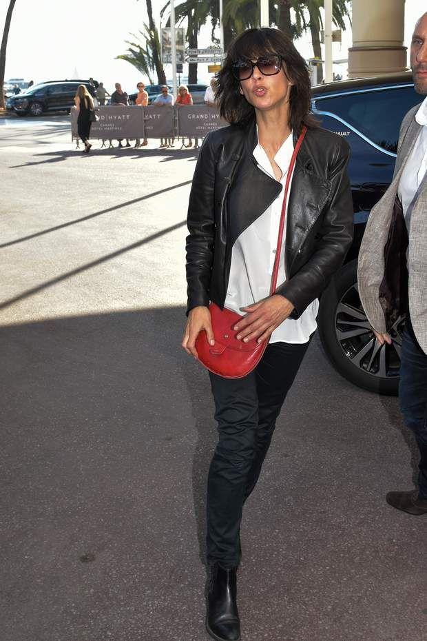 Premier jour : Sophie Marceau fait son arrivée à Cannes