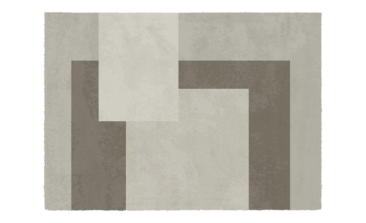 Tapis BRAVO, motif géométrique - Collection Tapis -