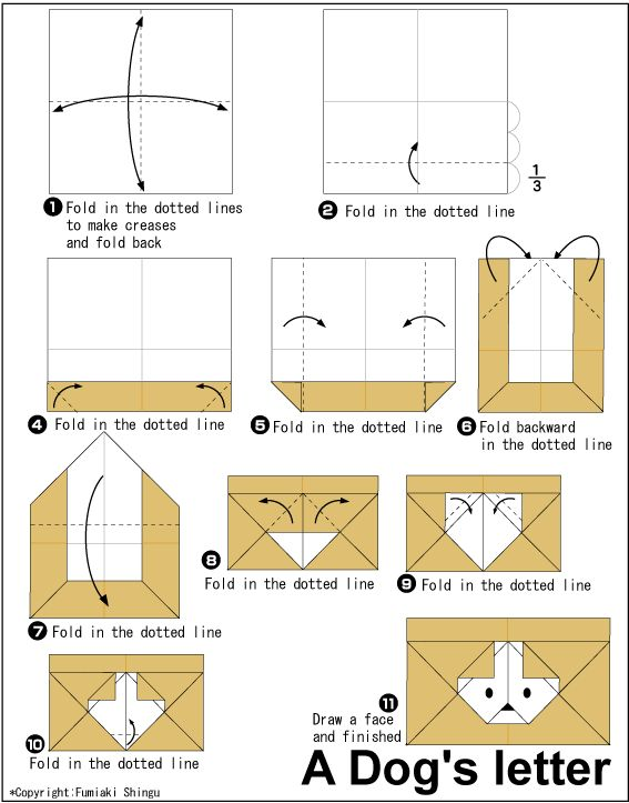 Peachy Origami Dogs Letter Origami Origami Origami Diagrams Origami Wiring 101 Israstreekradiomeanderfmnl