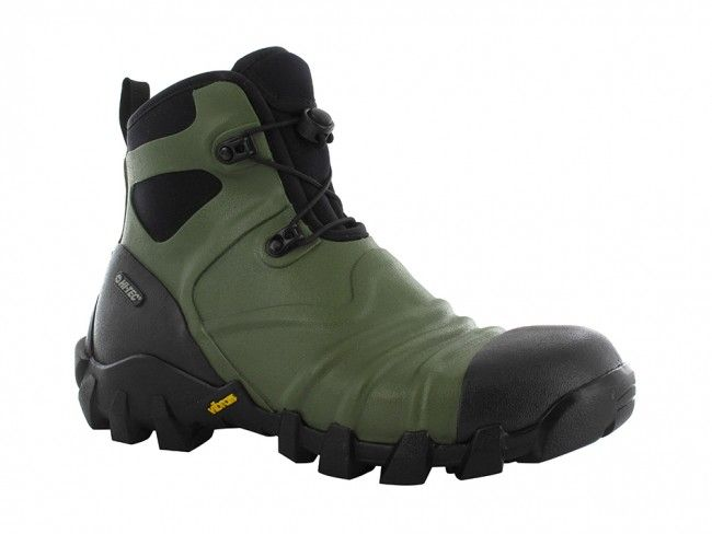 Hi-Tec Para Rubber WP Boot Slate/Black/Army Brix Workwear