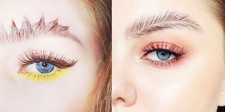 Just Accept That Eyebrow Art Is a Thing