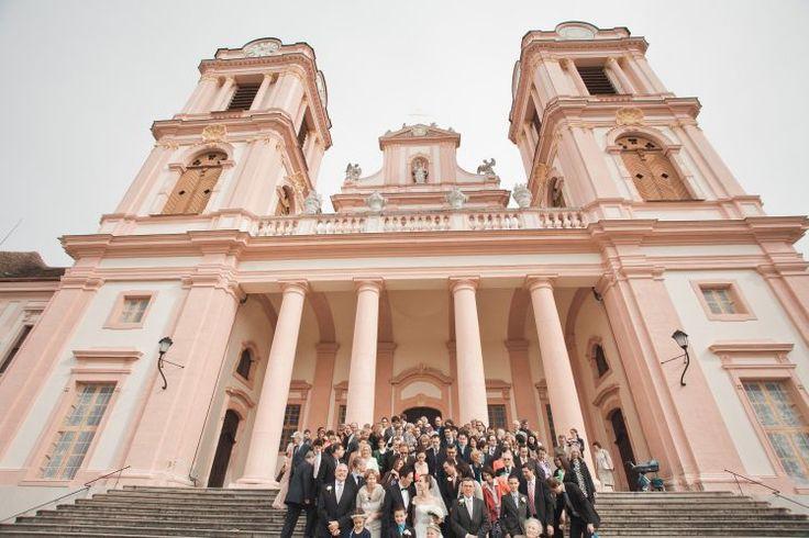 Hochzeit Gruppenfoto - Stift Göttweig