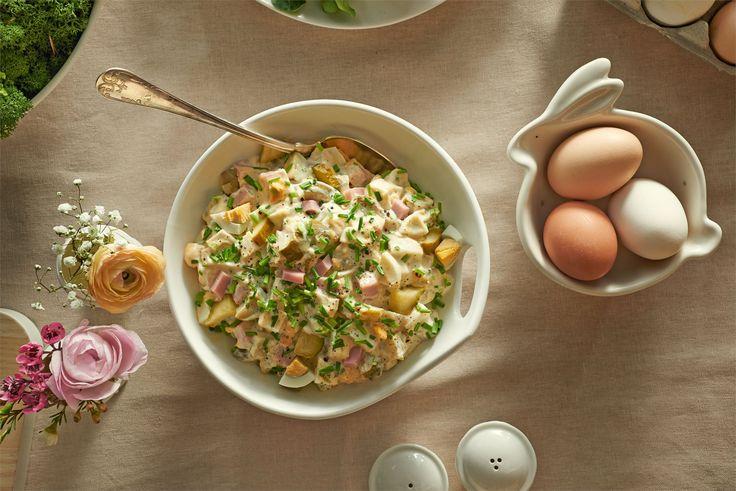 Jeżeli szukasz pomysłu na wielkanocne śniadanie dla całej rodziny,  sałatka wielkanocna z Majonezem Dekoracyjnym WINIARY  to idealny wybór – warzywna sałatka prosta w przygotowaniu i…
