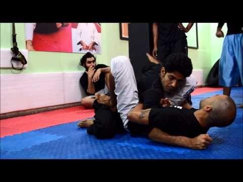 Videos - BJJ India, Atos BJJ Black Belt, Eduardo from Brazil teaching MMA Guard & Triangle Choke ~ www.bjjindia.in