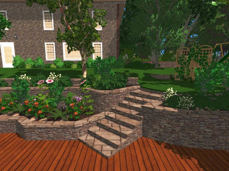 Beautiful Design Your Backyard Landscape Online Free Gallery