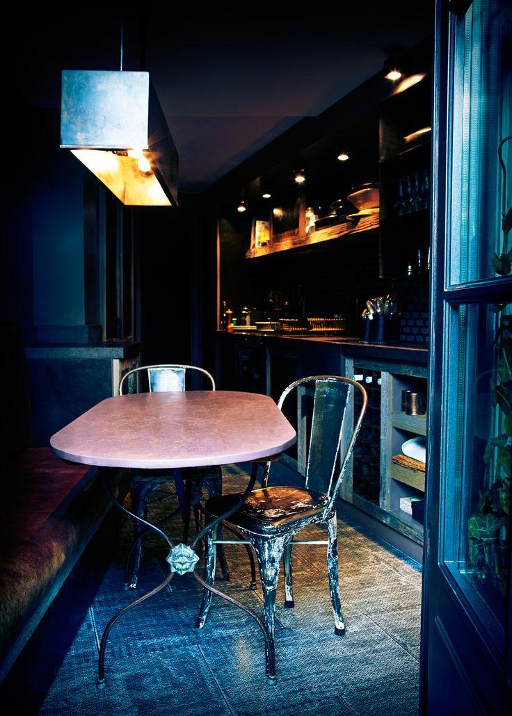 Dark Kitchen At Night 97 best kitchen chic images on pinterest | kitchen, kitchen ideas