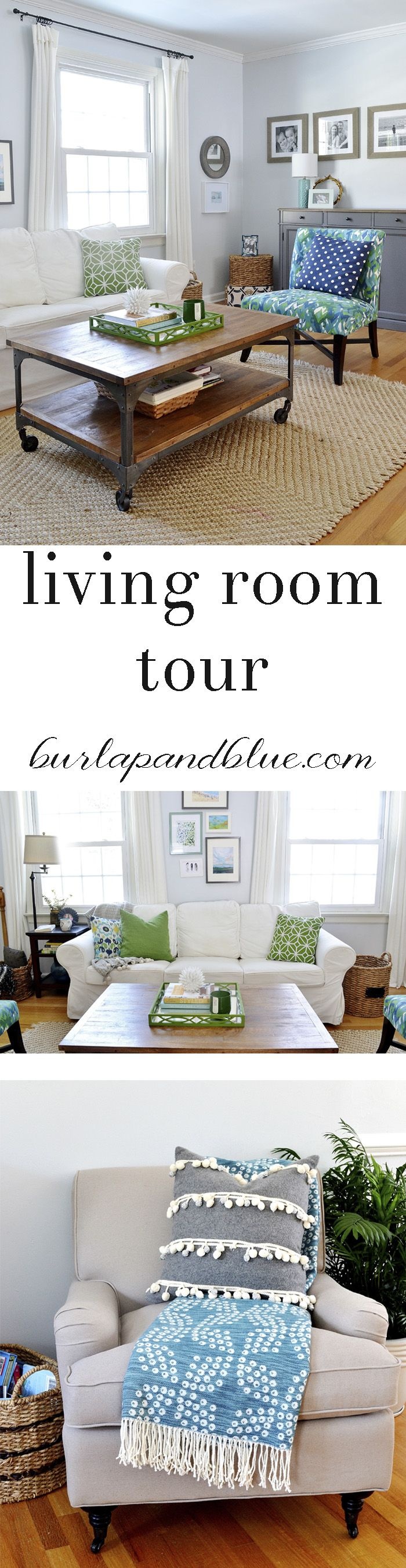 DIY home decor ideas-our updated living room